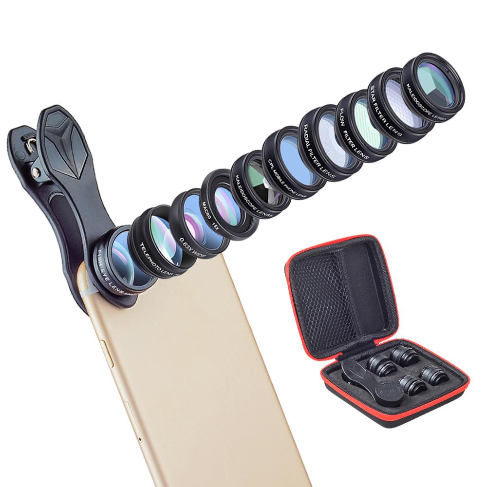 Objektiv na mobil, pomocník pro lepší fotografie