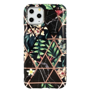 Gelové TROPIC MRAMOR pouzdro na APPLE iPhone 7 Plus (5.5) / iPhone 8 Plus (5.5) - vzor BLACK