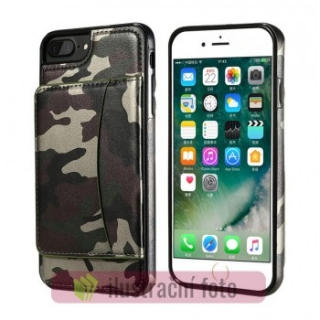 Gelové pouzdro CAMO CARD na APPLE iPhone 7 Plus (5.5)