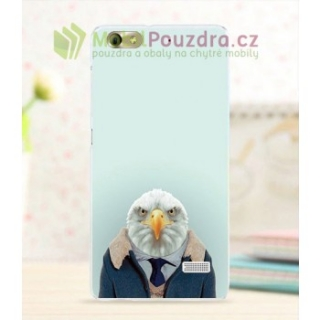 BACKCASE pouzdro na HONOR 4C - vzor FUNNY EAGLE