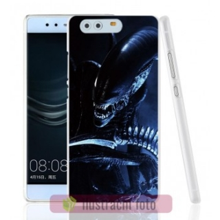BACKCASE pouzdro / obal / kryt na HUAWEI P8 - vzor ANGRY ALIEN
