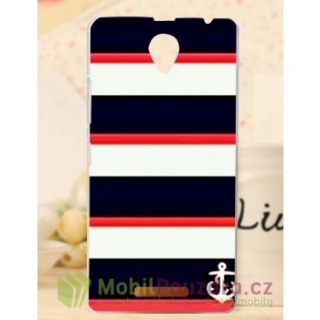 BACKCASE pouzdro na Lenovo A5000 - vzor SAILOR STRIPES