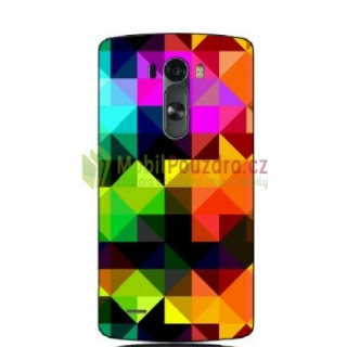 BACKCASE pouzdro / obal / kryt na  LG G3 Mini G3S D722 - vzor COLOR TRIANGLES
