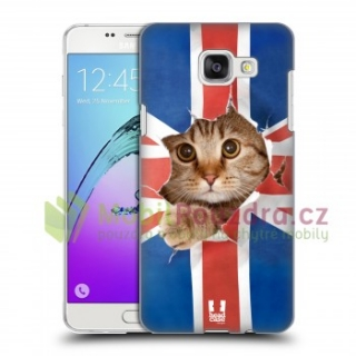 HEADCASE pouzdro na SAMSUNG A510F Galaxy A5 (2016) - vzor UK CAT