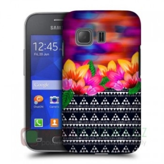 HEADCASE pouzdro / obal / kryt na SAMSUNG G130 Galaxy Young 2 - vzor FLORAL AZTEC